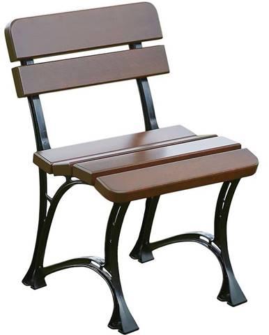 Záhradná stolička kráľovská orech