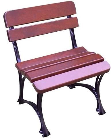 Záhradná stolička kráľovská višna
