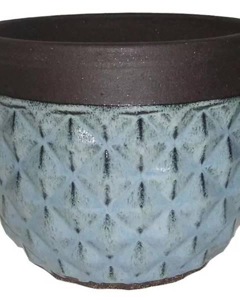 MERKURY MARKET Kvetináč R749-29/29/23.5 modrý