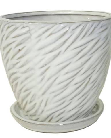 Kvetináč R842-14/14/12.5 biela