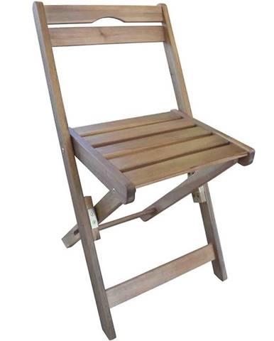 Drevený záhradný nábytok stolička