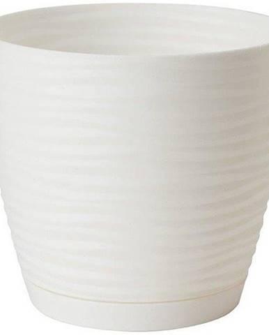 Sahara Petit okrúhly s podstavcom 17 cm biely