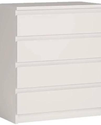 Komoda Armadio A1-4S biela