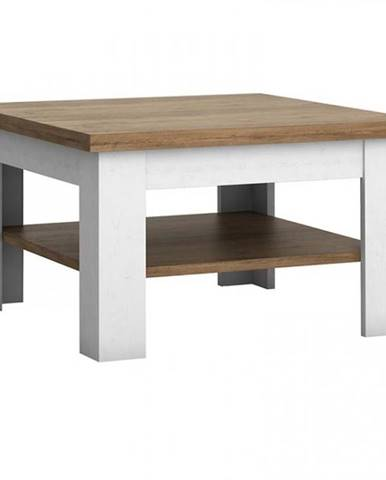 Konferenčný stolík Prowansja ST borovica andersen/dub lefkas
