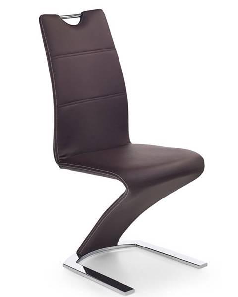 Halmar K188 jedálenská stolička hnedá