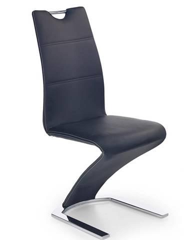 K188 jedálenská stolička čierna