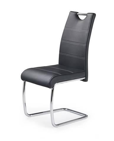 K211 jedálenská stolička čierna