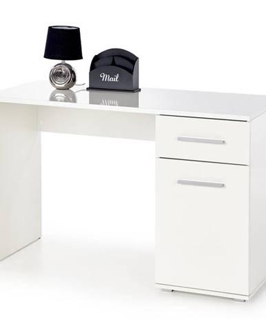 Lima B1 písací stolík biely lesk