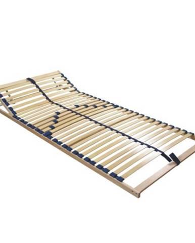 Twinflex polohovateľný lamelový rošt 80x200 cm brezové drevo