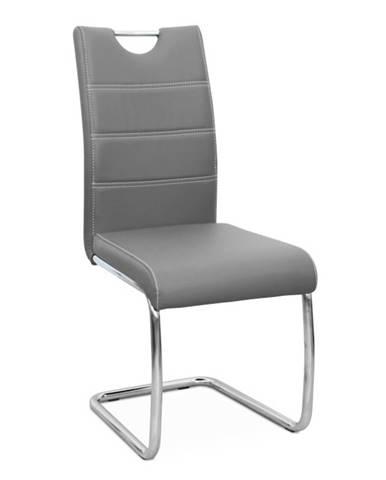 Abira New jedálenská stolička svetlosivá