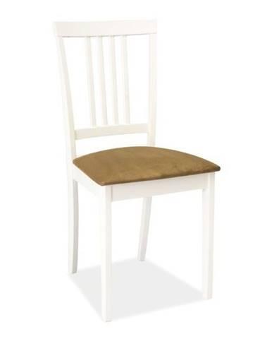 CD-63 jedálenská stolička biela