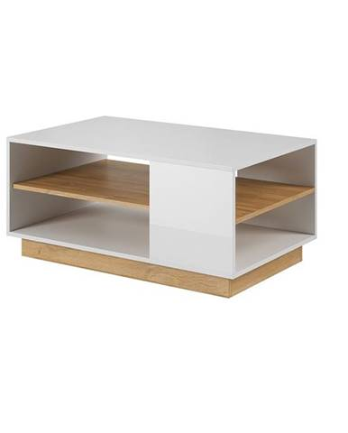 City konferenčný stolík biela