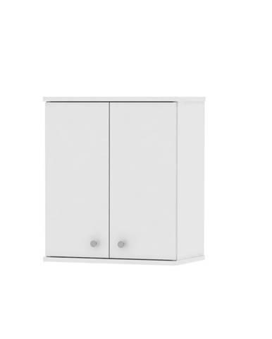 Galena SI08 kúpeľňová skrinka na stenu biela