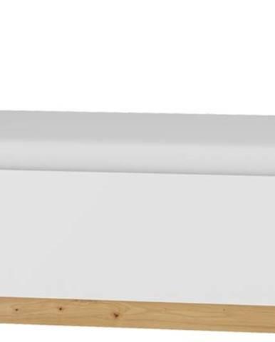 Maximus MXS-19 90 jednolôžková posteľ s roštom dub artisan