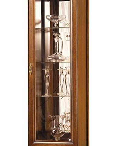 Neptun N-W 43132 P rustikálna vitrína s osvetlením nový orech