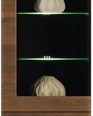 Tes TS 4 vitrína s osvetlením orech