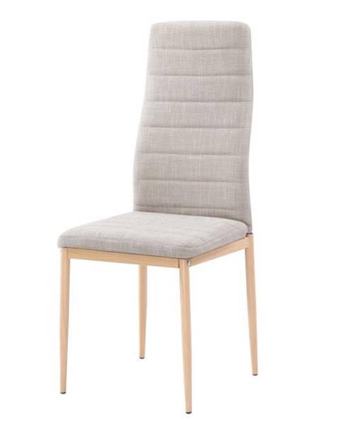 Kondela Coleta Nova jedálenská stolička béžová