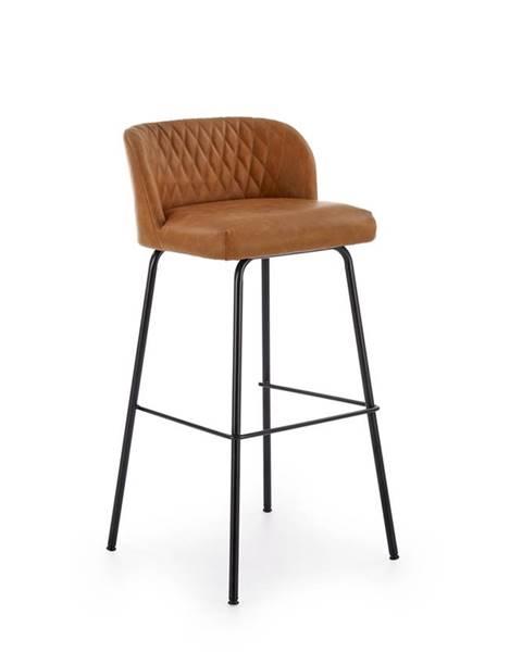 Halmar H-92 barová stolička svetlohnedá