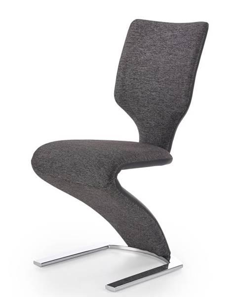 Halmar K307 jedálenská stolička tmavosivá