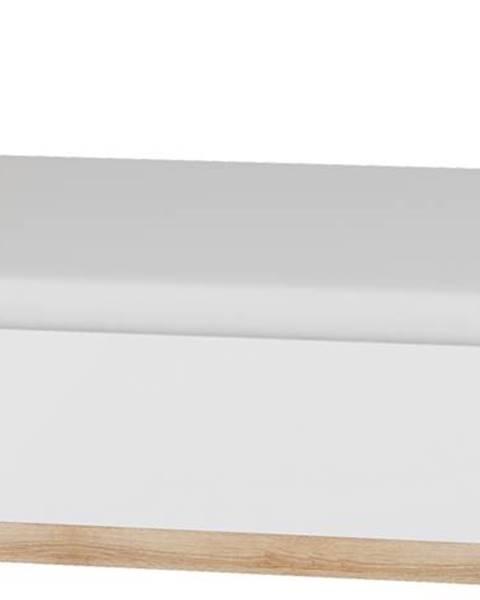 MEBLOCROSS Maximus MXS-18 160 manželská posteľ s roštom sonoma svetlá