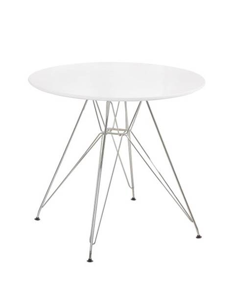 Kondela Rondy jedálenský stôl biela