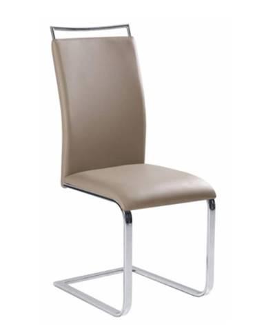 Barna New jedálenská stolička svetlohnedá