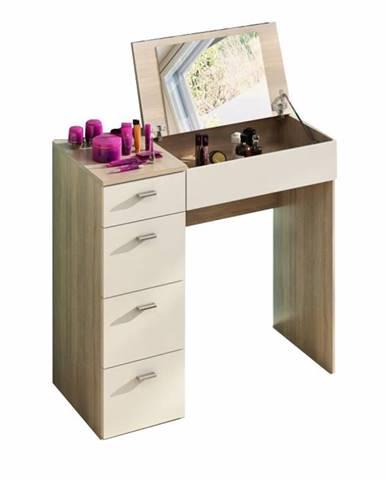 Belina toaletný stolík dub sonoma