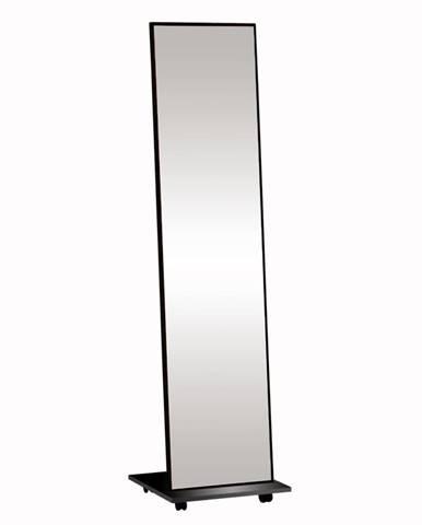 Neptun stojace zrkadlo na kolieskach čierna