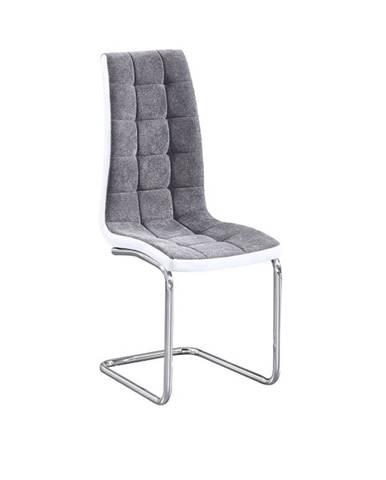 Saloma New jedálenská stolička svetlosivá