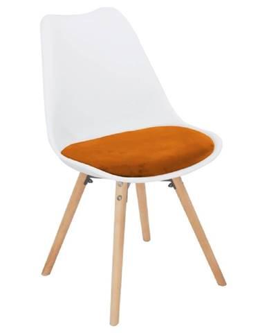 Semer New jedálenská stolička terakotta