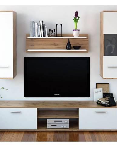 Waw New obývacia stena dub wotan