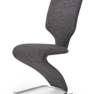 K307 jedálenská stolička tmavosivá
