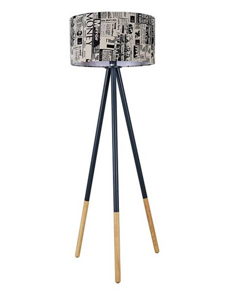 Tempo Kondela Cinda Typ 6 YF6253 stojacia lampa čierna