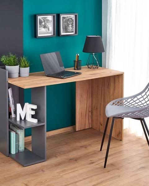 Halmar Fino písací stôl dub craft
