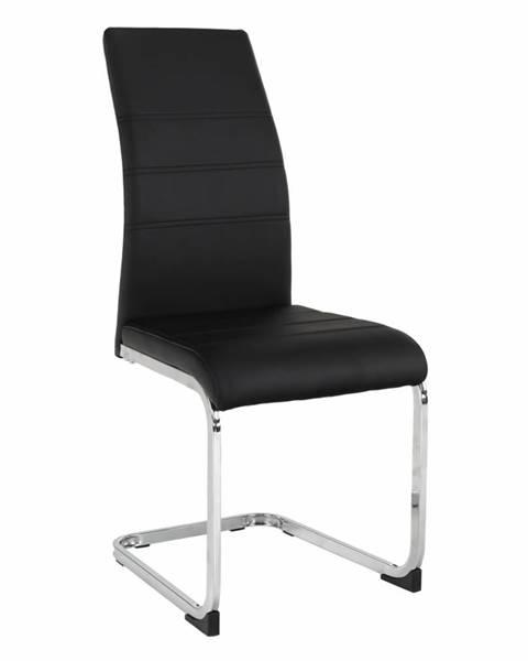 Tempo Kondela Vatena jedálenská stolička čierna