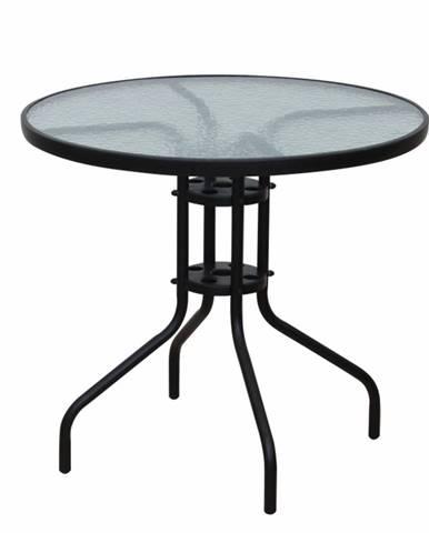 Borgen Typ 2 záhradný stolík čierna