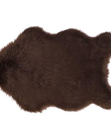 Ebony Typ 3 umelá kožušina 60x90 cm hnedá