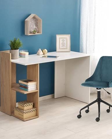 Fino písací stôl dub zlatý