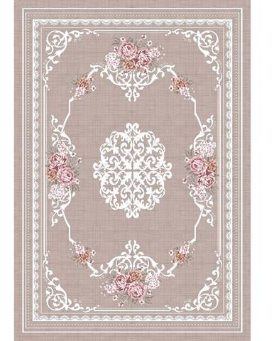 Sedef koberec 80x150 cm svetlohnedý
