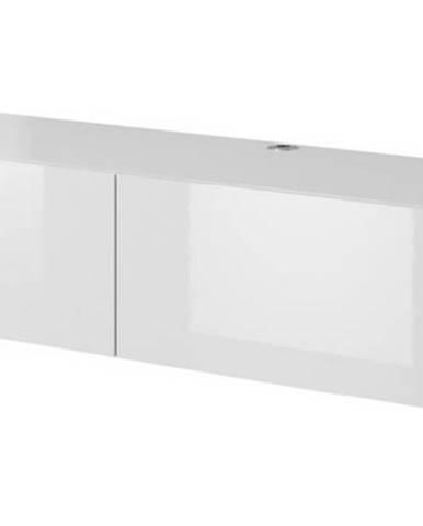 Slide 150 tv stolík na stenu biela