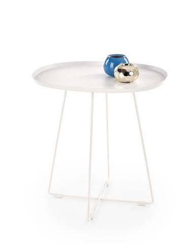 Tina okrúhly konferenčný stolík biela