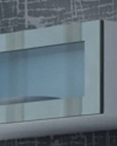 Vigo 90 vitrína na stenu so sklom biela