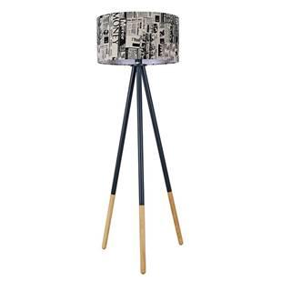 Cinda Typ 6 YF6253 stojacia lampa čierna