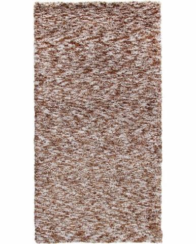 Toby koberec 170x240 cm svetlohnedá melírovaná