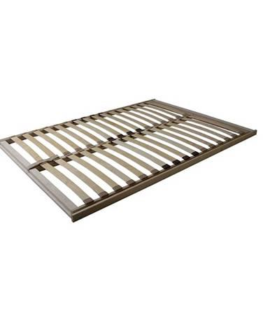 Basic Flex Front lamelový rošt 80x200 cm ohýbané brezové drevo