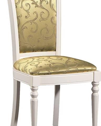 Krzeslo M jedálenská stolička biela