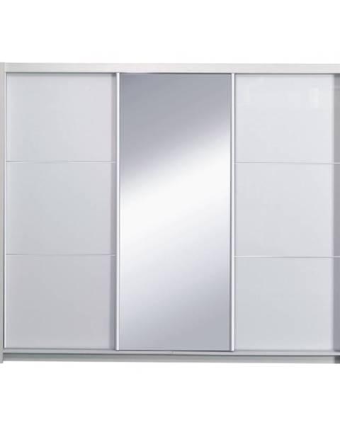 Tempo Kondela Asiena šatníková skriňa 208x213 cm biela
