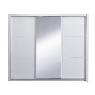 Asiena šatníková skriňa 208x213 cm biela