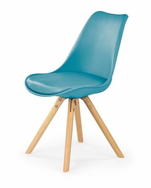 Halmar K201 jedálenská stolička tyrkysová