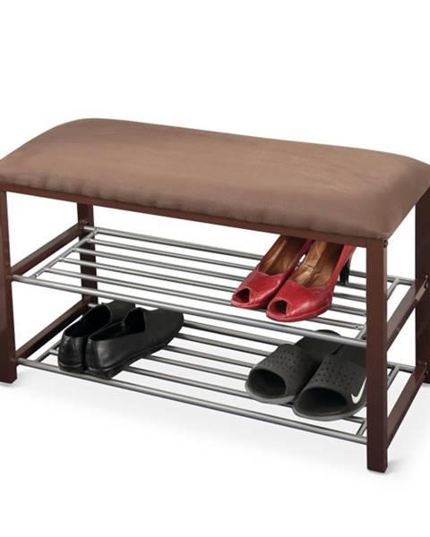 Tempo Kondela Langella botník so sedadlom čokoládová